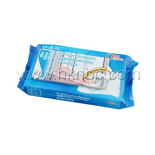 25片玻璃清洁湿巾