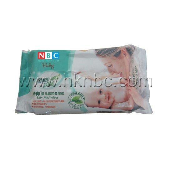 80片装婴儿温和柔湿巾